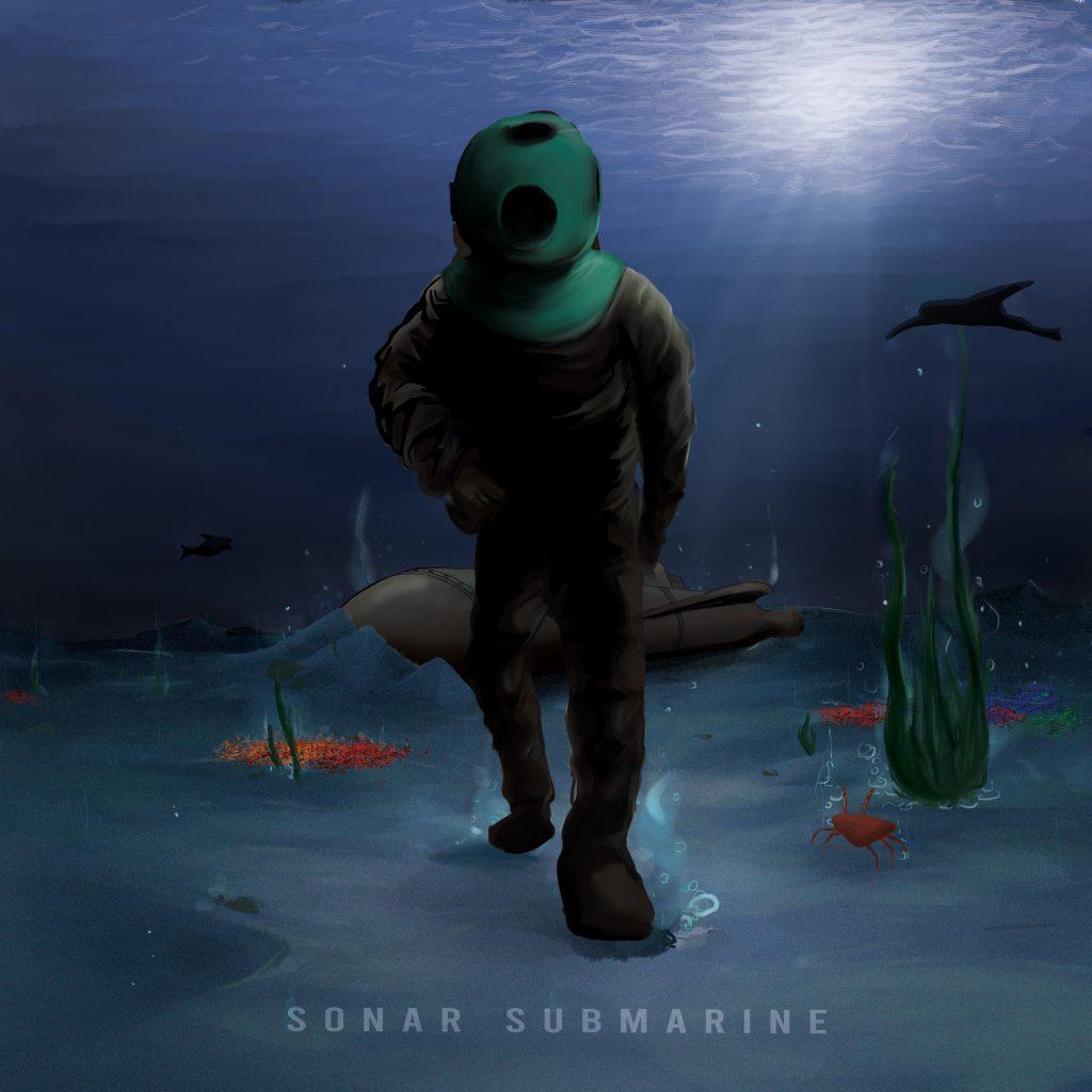 Sonar Submarine Album Cover Raw