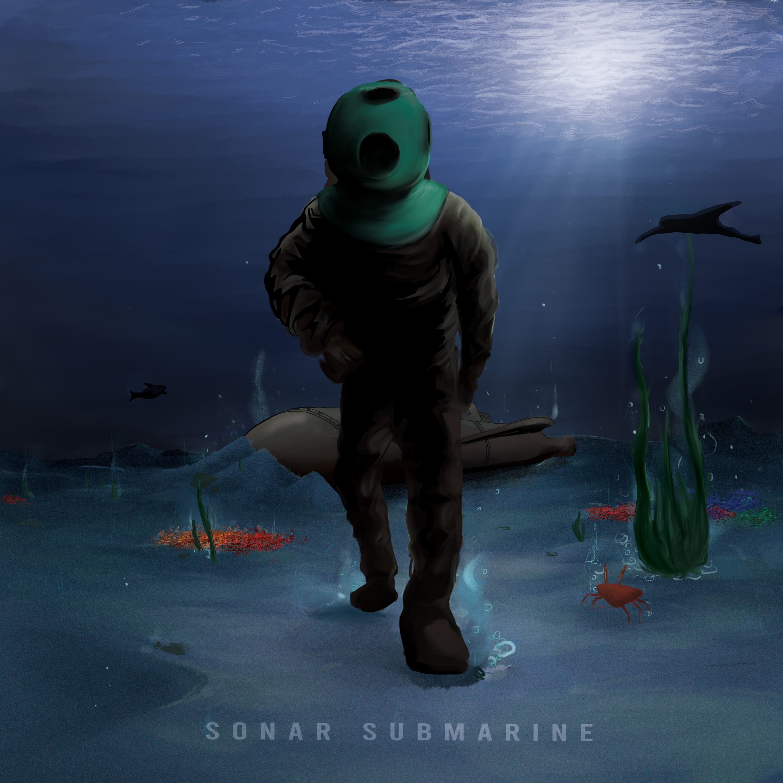 Sonar Submarine – Album Cover