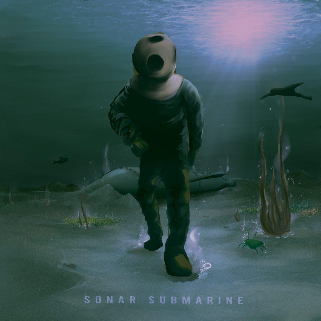 Sonar Submarine Album Cover v3.1
