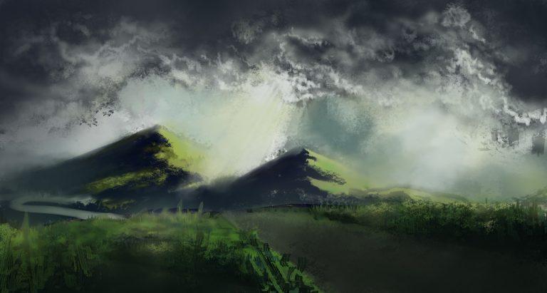 Landscape sketch 5